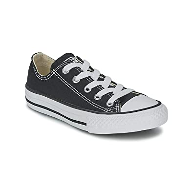 465e43eaa10a Converse All Star Low Black White Kids Youth Shoes 3J235 Sneakers (1.5 Kids