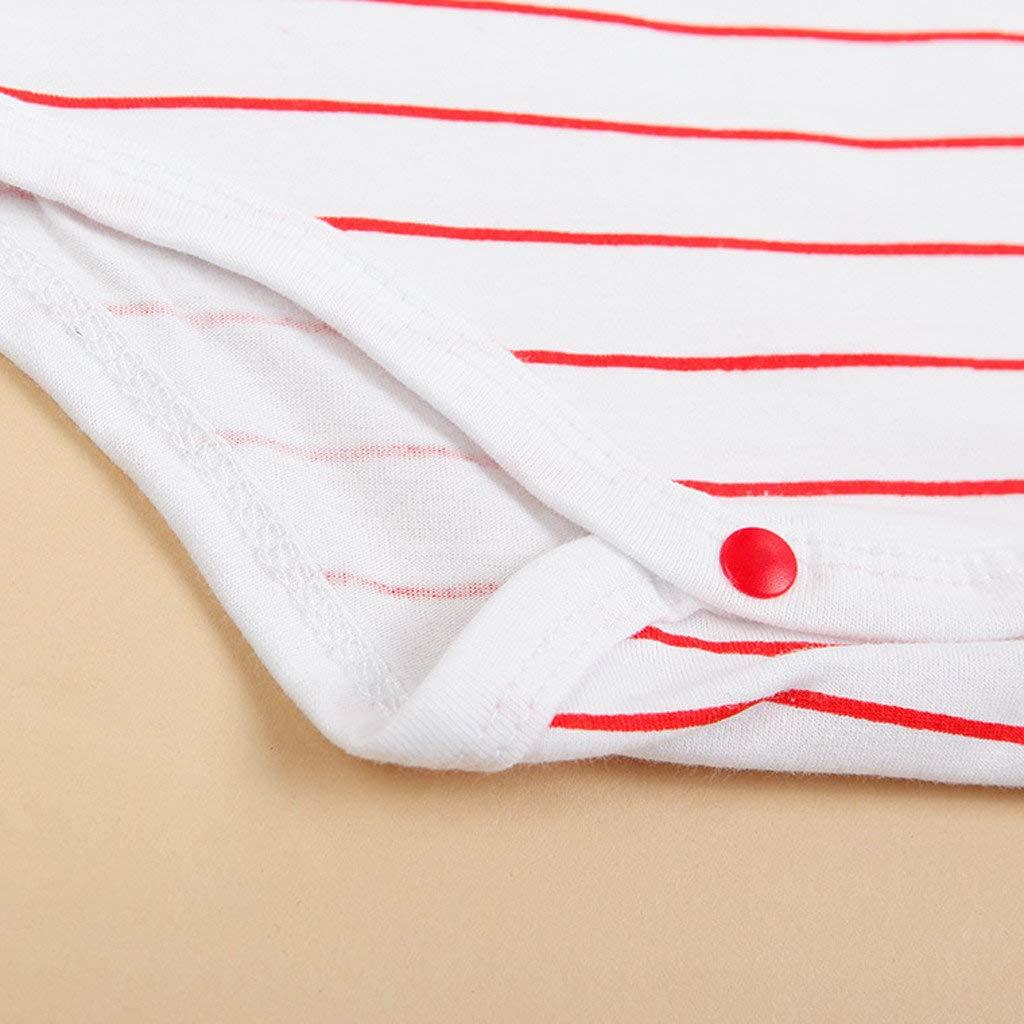 Bodies Bebe Manga Larga Unisex Rayas Pelele para Dormir Beb/é Pijamas Body Bebe Manga Larga Recien Nacido Monos para beb/é Manga Larga Ni/ñas Mameluco Ropa de Ni/ños Ni/ña
