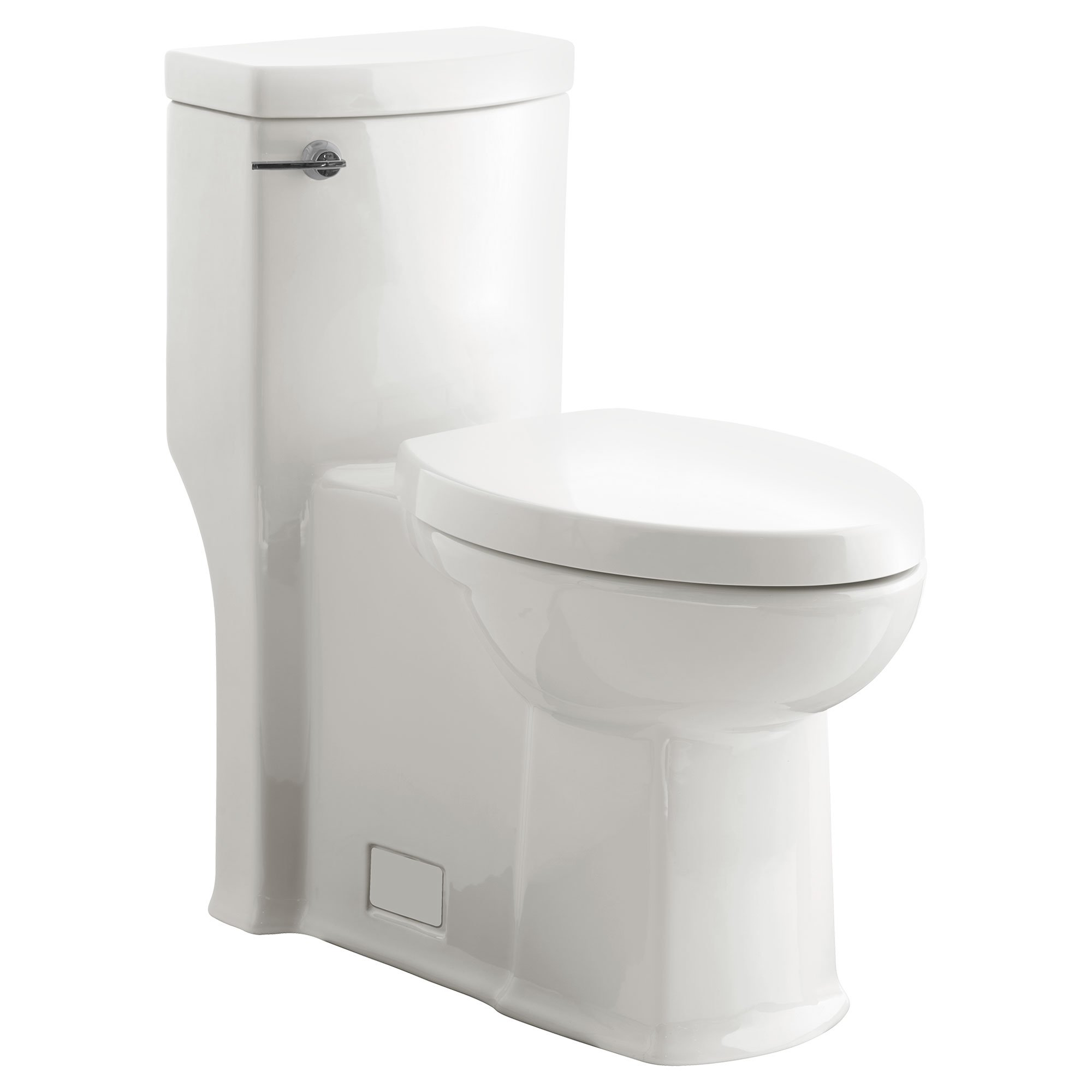 American Standard 2891128.020 Boulevard Flowise Right Height Elongated One-Piece 1.28 Gpf Toilet, White