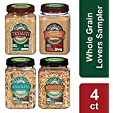 RiceSelect Whole Grain Lover's Sampler, Rice & Couscous Variety Pack, 131.7-Ounce (Pack of 4)