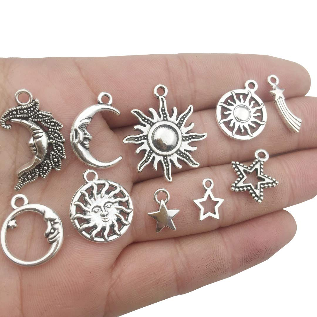 Huge Key Charms Jewelry Findings Making Accessory For DIY Necklace Bracelet m102 12pcs Antique Silver Huge Skeleton Key Craft Supplies Charms Pendants for Crafting