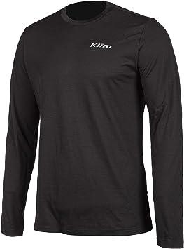 Klim Teton Merino Wool Base Layer Short Mens Undergarment Off-Road Body Armor Black//X-Large