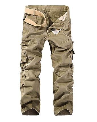 meglio sito affidabile migliori offerte su Uomo Pantaloni Cargo Multitasche Pantaloni Tattici Militari Uomo ...