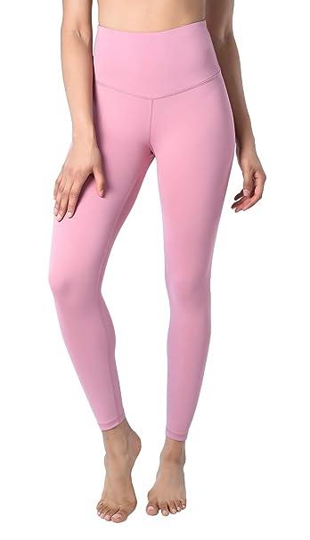 098d2e17c7 90 Degree By Reflex High Waist Supreme Tummy Control Anti Odor Ankle Length  Leggings - Purple - Small: Amazon.co.uk: Clothing
