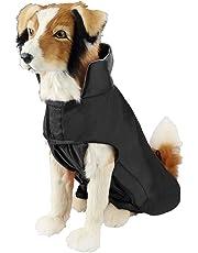 SymbolLife Hundemantel aus 100% Wasserdicht Nylon Fleece Futter Jacke Reflektierende Hundejacke Warm Hundemantel Climate Changer Fleece Jacke einfaches An- und Ausziehen