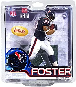 McFarlane ARIAN FOSTER collectors club Exclusive NFL 31 Rookie figure Houston Texans running back