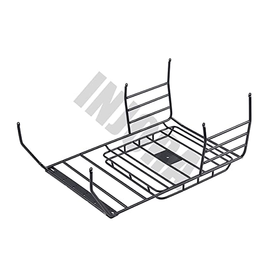 amazon injora 7 color available 313mm wheelbase jeep wrangler Jeep 4 Door amazon injora 7 color available 313mm wheelbase jeep wrangler rubicon car shell metal roof rack for 1 10 rc crawler axial scx10 90046 black toys
