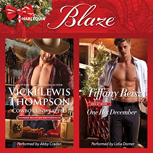 Cowboy Unwrapped & One Hot December: Thunder Mountain Brotherhood, Book 8 Audiobook [Free Download by Trial] thumbnail