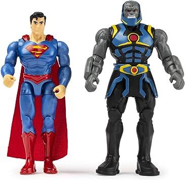 DC Comics Pack de dos Figuras Acción Liga de la Justicia 10 cm ...