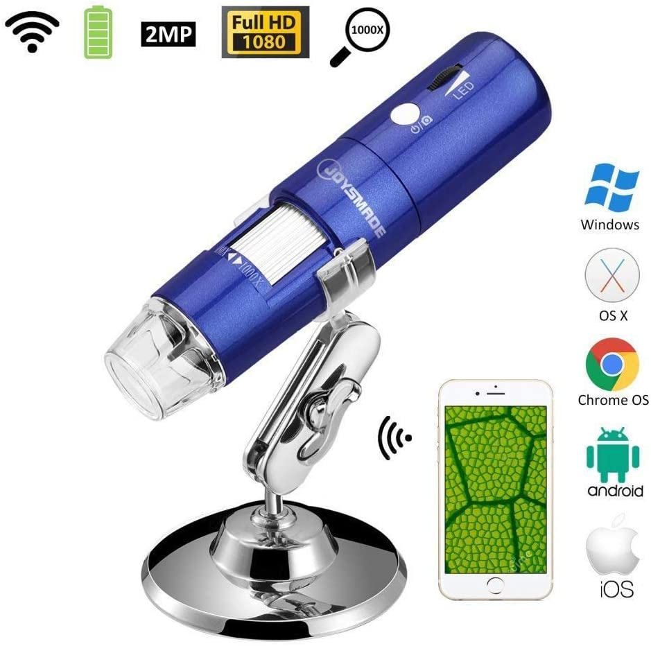 Sanung Handheld Portable 30X Magnifier with 12 pcs White LED Lights Aided Identification Observation for Diamond Jewelry Stamps Works of Art Gift Packaging
