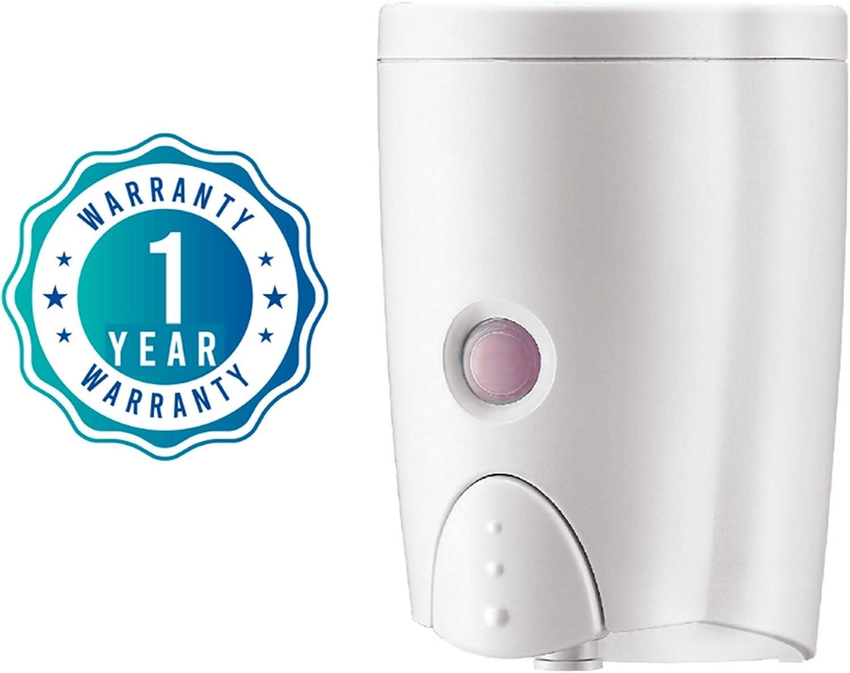 Double 380ml Soap Dispenser Wall-mount Shower Bath Shampoo Dispenser Manual R3Z0