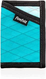product image for Flowfold Minimalist Card Holder Durable Slim Front Pocket Wallet, Card Holder Wallet Made in USA (Aqua)