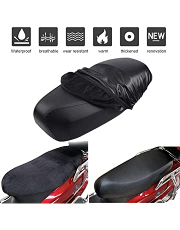Motorcycle Gel Pad Seat Cushion Durable Comfortable Gel Cushion Pad Replacement Shock Absorption Seat Leaftree