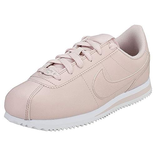 Nike Cortez Basic SL SS (GS), Zapatillas de Deporte para Mujer, Silt