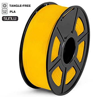 SUNLU Filamento PLA 1.75mm 1kg Impresora 3D Filamento, Precisión ...