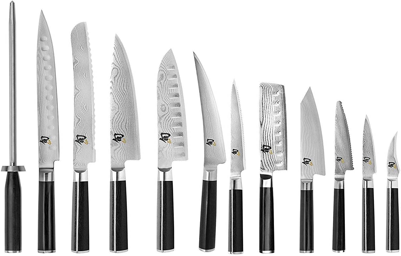 Shun Classic 13-piece Knife Block Set