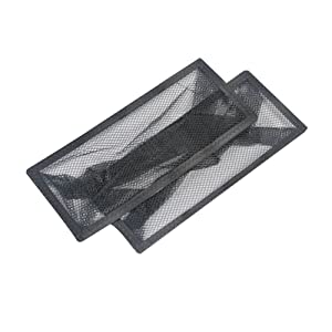 "Floor Register Trap - Screen for Home Air Vents 4""x10"""