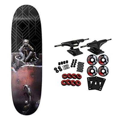 """Primitive Skateboard Complete Moebius Marvel Anxiety Man 9.125"""" : Sports & Outdoors"""