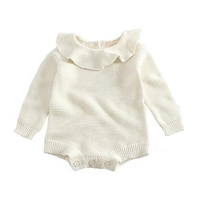 52d9b14484364 Barboteuse en tricot pour Bébé