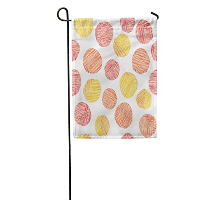 Amazon.com : Semtomn Garden Flag Pink and Orange Peach Pattern Summer Harvest Scratched Endless Fruit Home Yard House Decor Barnner Outdoor Stand 12x18 ...