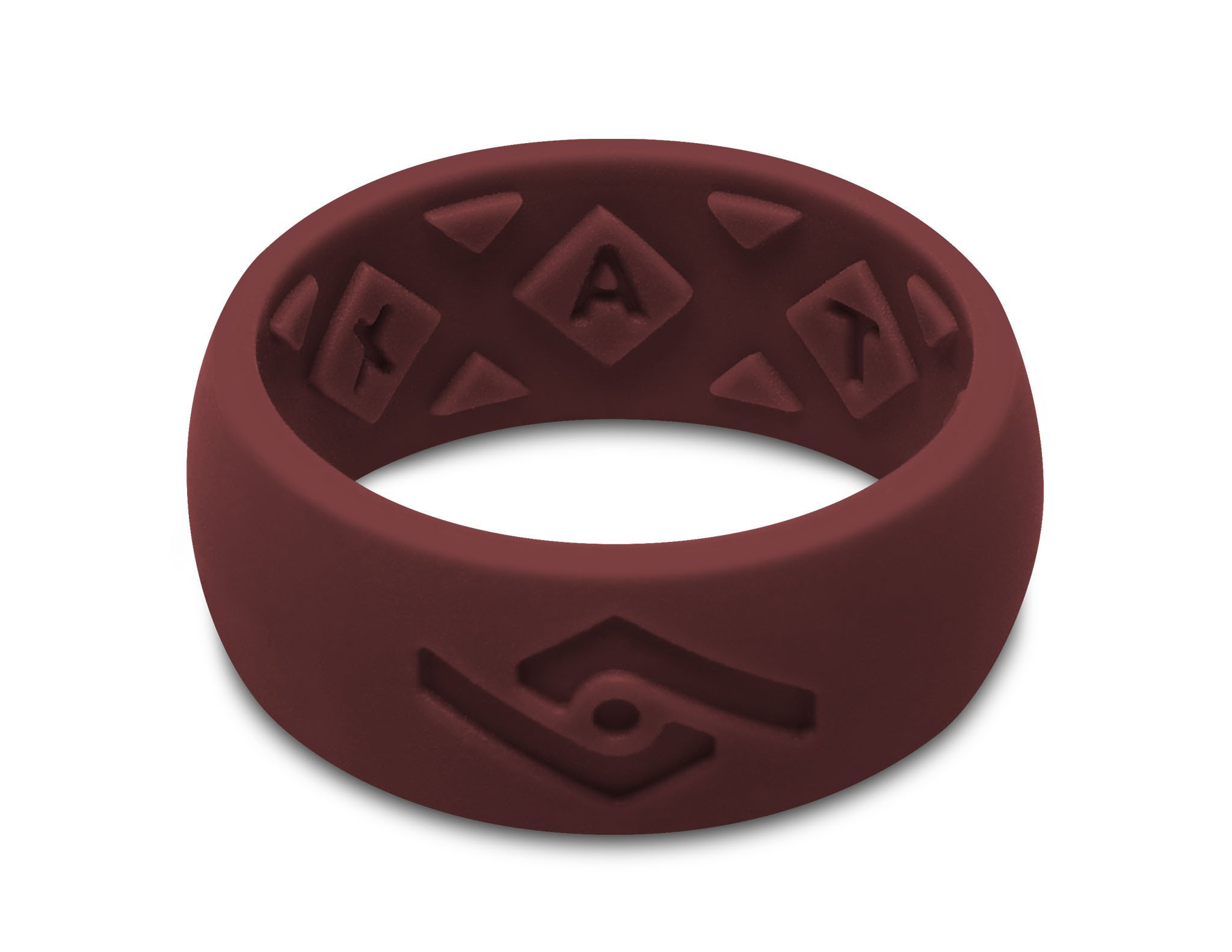 Fixate Designs Men's FX8 X-Vent Silicone Ring in Multiple Colors and Sizes
