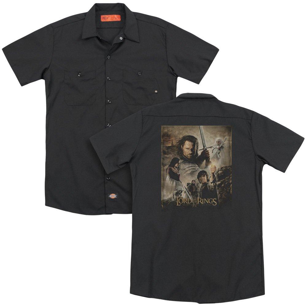 Lor Rotk Poster Adult Work Shirt