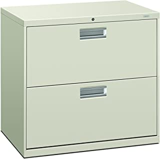 product image for HON 672LQ 600 Series 30-Inch by 19-1/4-Inch 2-Drawer Lateral File, Light Gray
