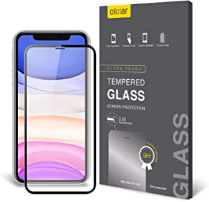 Olixar Screen Protector for Apple iPhone 11, Tempered Glass - Reliable Protection, Supports Device Features - Full Video Installation Guide
