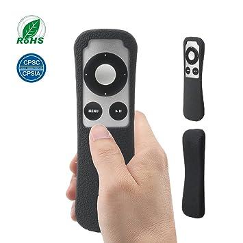 Protector Funda de Silicona Anti-Golpe Caso para Apple TV 3 Mando a Distancia SIKAI Absorción de Golpes Antideslizante Estuche para Apple TV 3rd Remote ...