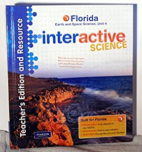 Hardcover Teacher's Edition and Resource, Florida Earth and Space Science, Unit 4 (Interactive Science) Book