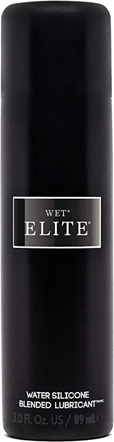 Wet Elite Personal Lubricant, Water and Silicone Blend Hybrid Lube (3 Fl Oz (Pack of 1))
