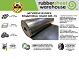 "Rubber Sheet Warehouse .125"" (1/8"") Thick x"