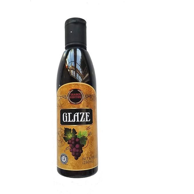 Amazon Com Trader Joes Trader Giottos Balsamic Glaze Balsamic Vinegars Grocery Gourmet Food