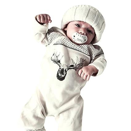 feiXIANG Bebé recién Nacido Ropa Infantil Bebé niña Niño de Dibujos ...