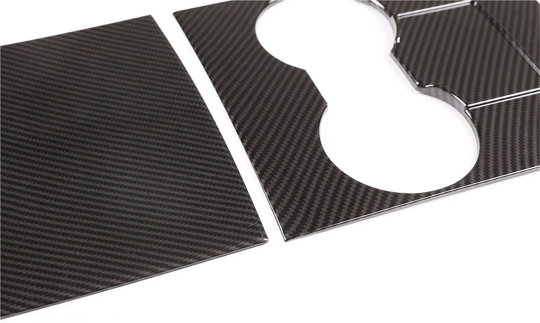 Auto Mittelkonsole Panel Aufkleber,MoreChioce ABS Mittelkonsole Abdeckung Panel Trim Cover Auto Styling Zubeh/ör Ersatz kompatibel mit Model 3 2017-2020,Kohlefaser