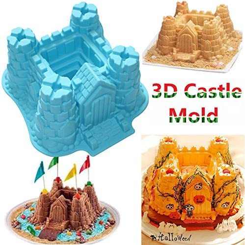 Food Grade Silicone Continental Tower Frame Crown pigeons Fondant Cake Molds Chocolate Molds for Sugarcraft Cooking Kitchen Decoration Tool