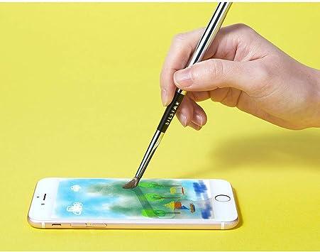 Pincel digital artístico para tableta con pantalla táctil, lápiz capacitivo ...