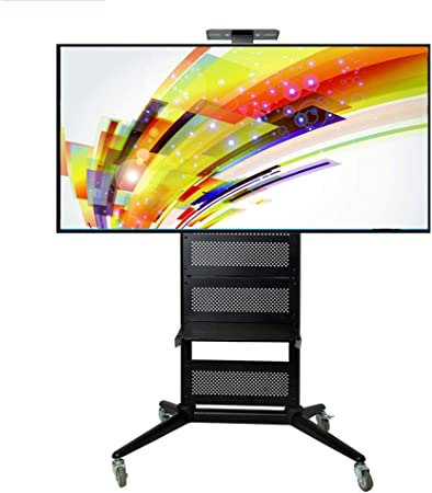 Jsmhh TV Compras, Carretilla de Soporte de Suelo con Ruedas for LED LCD de 32 a 65. Pantalla Plana de Plasma Panel de balanceo de TV Soporte for oficinas, Sala: Amazon.es: Hogar