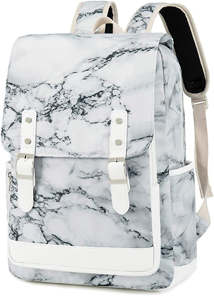 School Backpack for Teen Girls Women Bookbag School Bag 15.6 inch Laptop Backpack Daypack for School Travel