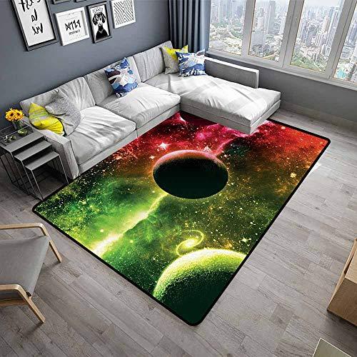 Psychedelic,Slip-Resistant Washable Entrance Doormat 48