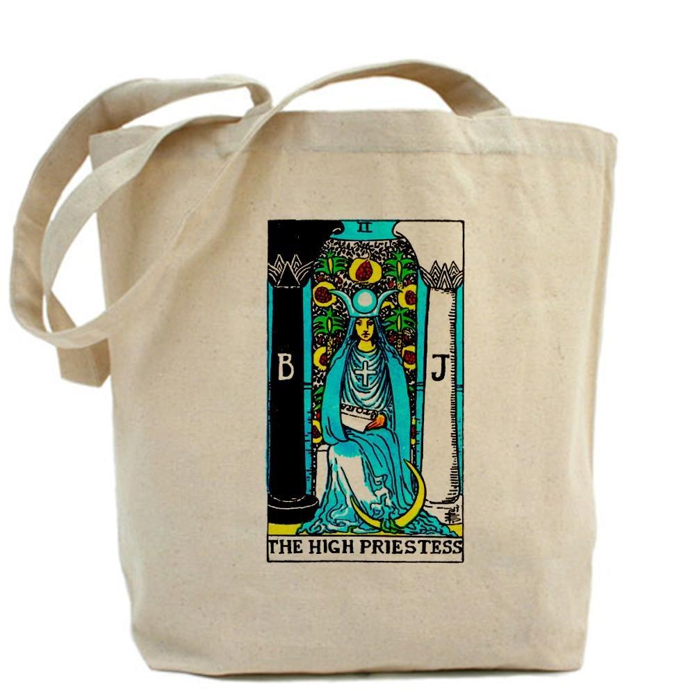 CafePress - el High Priestess Tarot - Gamuza de bolsa de ...