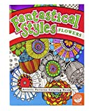Mindware Fantastical Styles: Flowers (Colouring Book)