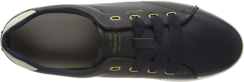 GANT Avona, Sneakers Basses Femme Bleu Marine G69