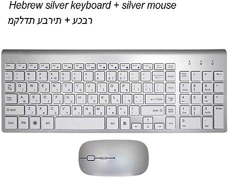 Combinación De Teclado Y Mouse Inalámbricos Ultrafinos para ...