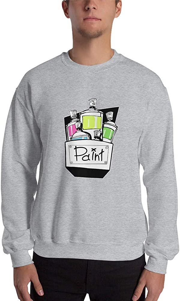 Viam Star Graffiti Paint Unisex Sweatshirt