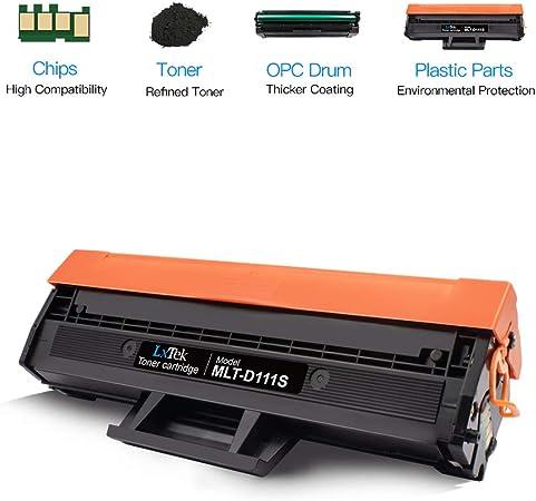 Amazon.com: LxTek MLT-D111S - Cartucho de tóner para ...