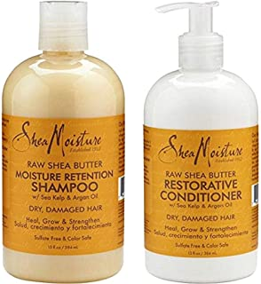 product image for Shea Moisture Raw Shea Butter Restorative Shampoo 13oz and Conditioner Bundle 13oz
