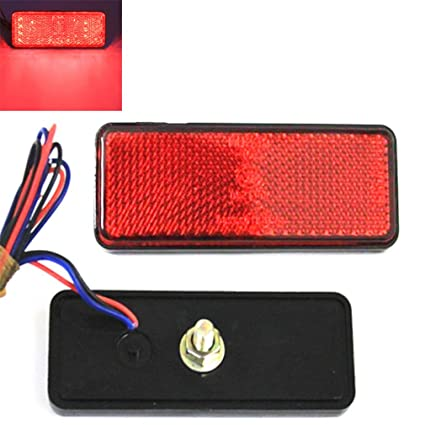 Car Lights Dependable 2pc Led Motorcycle Stop Turn Signal Light Rear Led Tailligh For Yamaha Honda Light Brake Light Taillight Case