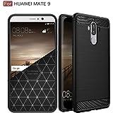 Huawei Mate 9 ケース「Beyeah」mate9 カバー [ 米軍MIL規格取得 落下 衝撃 吸収 ] 耐衝撃カバー (ブラック)