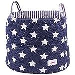 Minene Large Storage Basket with Star...